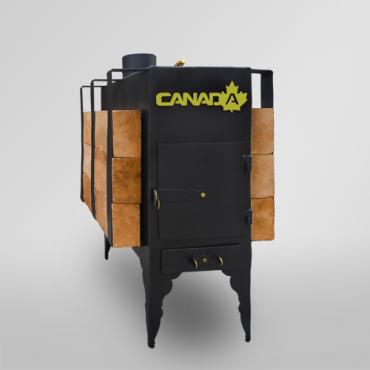 Печь дровяная Canada длительного горения