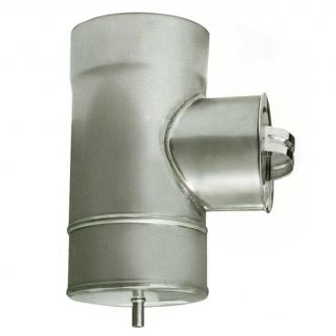 ø140/200 Ревизия к/оц 1мм нержавеющая AISI 304 сталь
