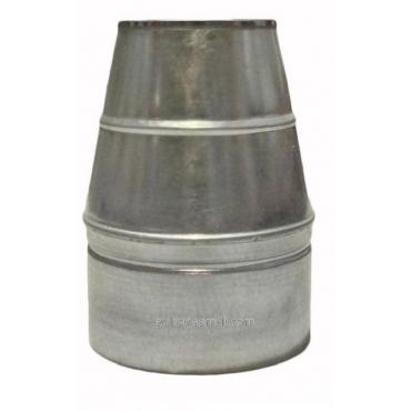Ø100/200 Конус термо к/оц  нержавеющая AISI 304 сталь
