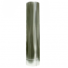 Ø100/200 Труба 0,3м к/к  нержавеющая AISI 304 сталь