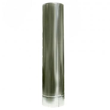 Ø130/200 Труба  0,5м к/оц 1мм нержавеющая AISI 304 сталь
