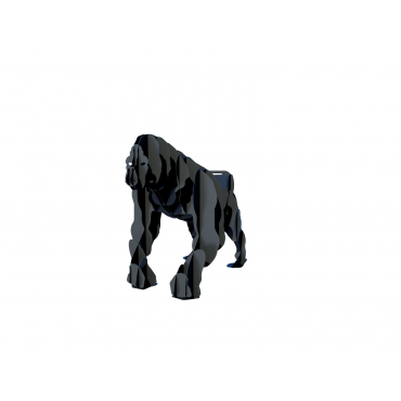 Мангал в виде  гориллы