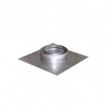 Ø110/180 Подставка разгр. Настен. нержавеющая сталь
