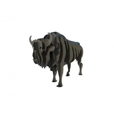 Мангал в виде бизона
