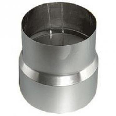 Ø130 Переходник 08 мм нержавеющая AISI 304 сталь