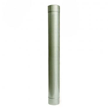 Ø130 Труба 1м, 08 мм нержавеющая AISI 321 сталь