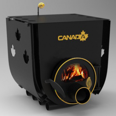 Булерьян «Canada» с варочной поверхностью «00»+стекло и защитный кожух