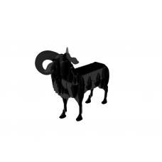 Мангал в виде барана