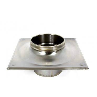 Ø100|160 Окончание термо 1мм  нержавеющая AISI 304 сталь