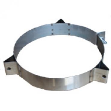 Ø120 Кольцо под растяжку нержавеющая сталь